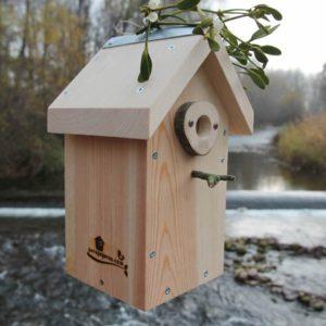 caja nido para pequeñas aves insectívoras caixa niu petites ocells insectívores habia kutxa hegazti intsektoriko txikiak