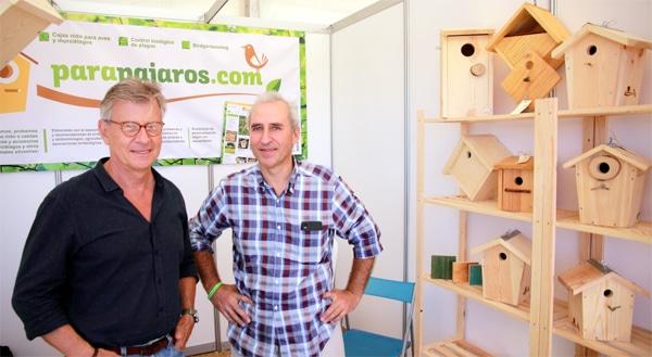 Juan Varela con Iñaki Jarauta