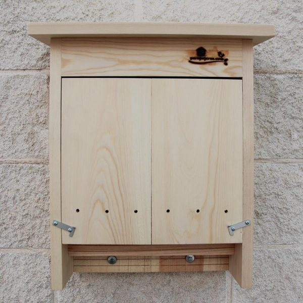 caja nido murciélagos, caixa niu ratpenats, caixa niño morcego, saguzar habia