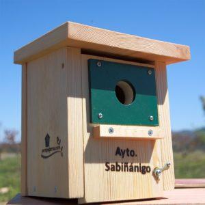 caja-nido-herrerillos-carboneros-CP18 Ayto. Sabiñanigo