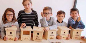 Taller de elaboración de cajas nido