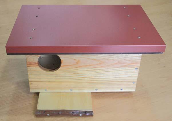 caja nido 80B cernícalo