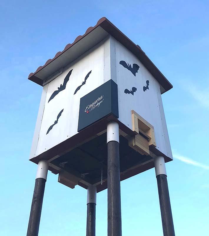 Refugio para murciélagos/quirópteros para Bodegas Enguera