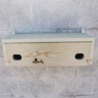 Caja nido DUO para Vencejo común y Vencejo real Cp62