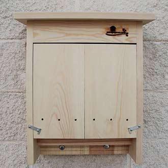 Caja nido para colonias de murciélagos o quirópteros Ref. CM11