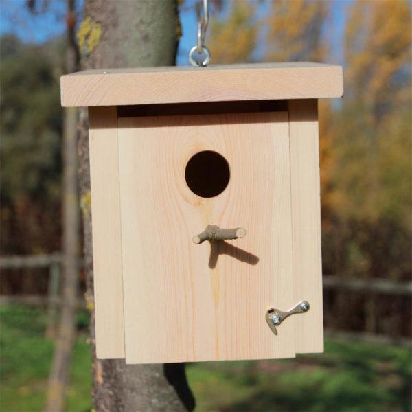 Pack 2 cajas nido pequeñas aves insectívoras, Pack 2 caixas niño pequenas aves insectívoras, Pack 2 caixes niu petites ocells insectívors, Pack 2 habia-kaxa hegazti intsektujale txikiak